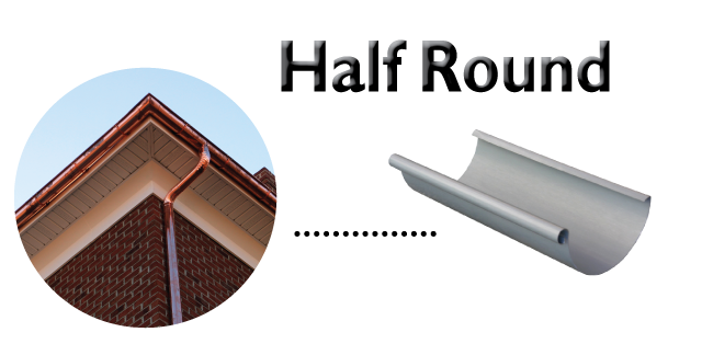 Types Of Gutter Cost Of Gutter Price Aluminum