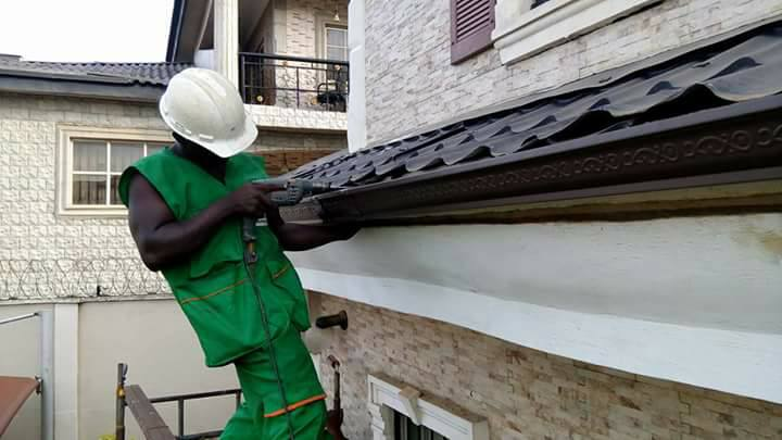Gutter Installer In Nigeria