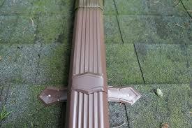 Aluminum downspout band